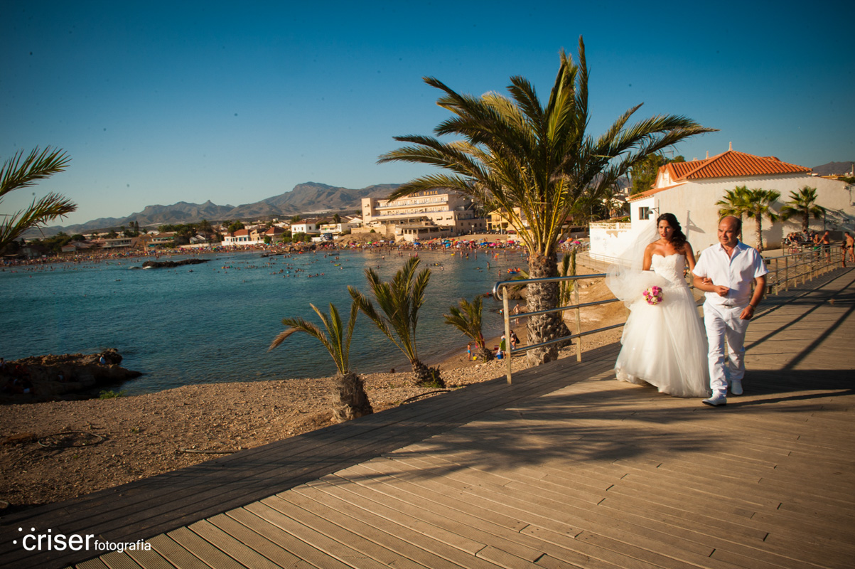 boda en la playa mazarron criserfotografia 34
