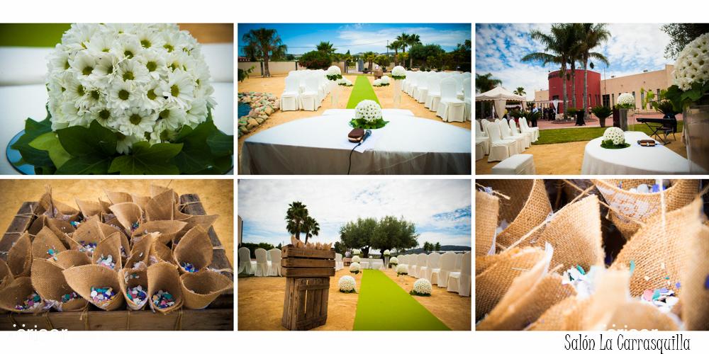 Como elegir tu salón de celebración de bodas