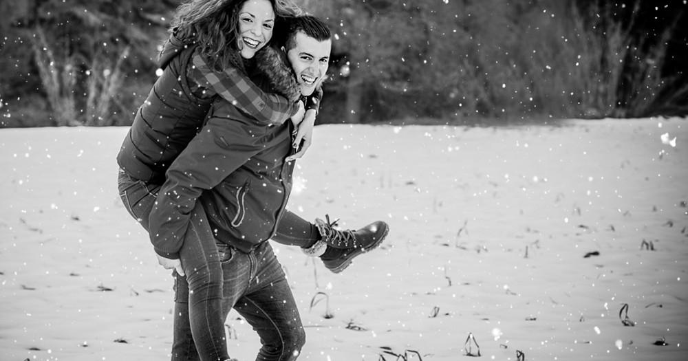 Preboda en la nieve- Alicia y Jaime -fotografos en Murcia